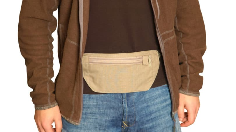 Use Rfid Blocking Money Belt