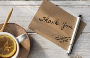 What to Write in a Thank You Card – 4 Tips for Proper Etiquette