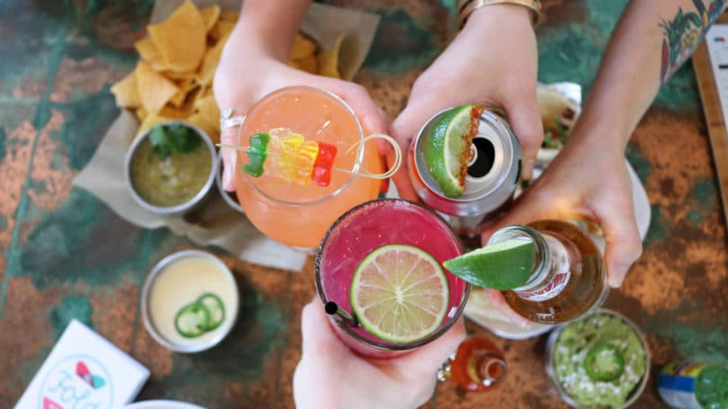 Happy Hour Appetizers Drinks Cheers Mexican Restaurant