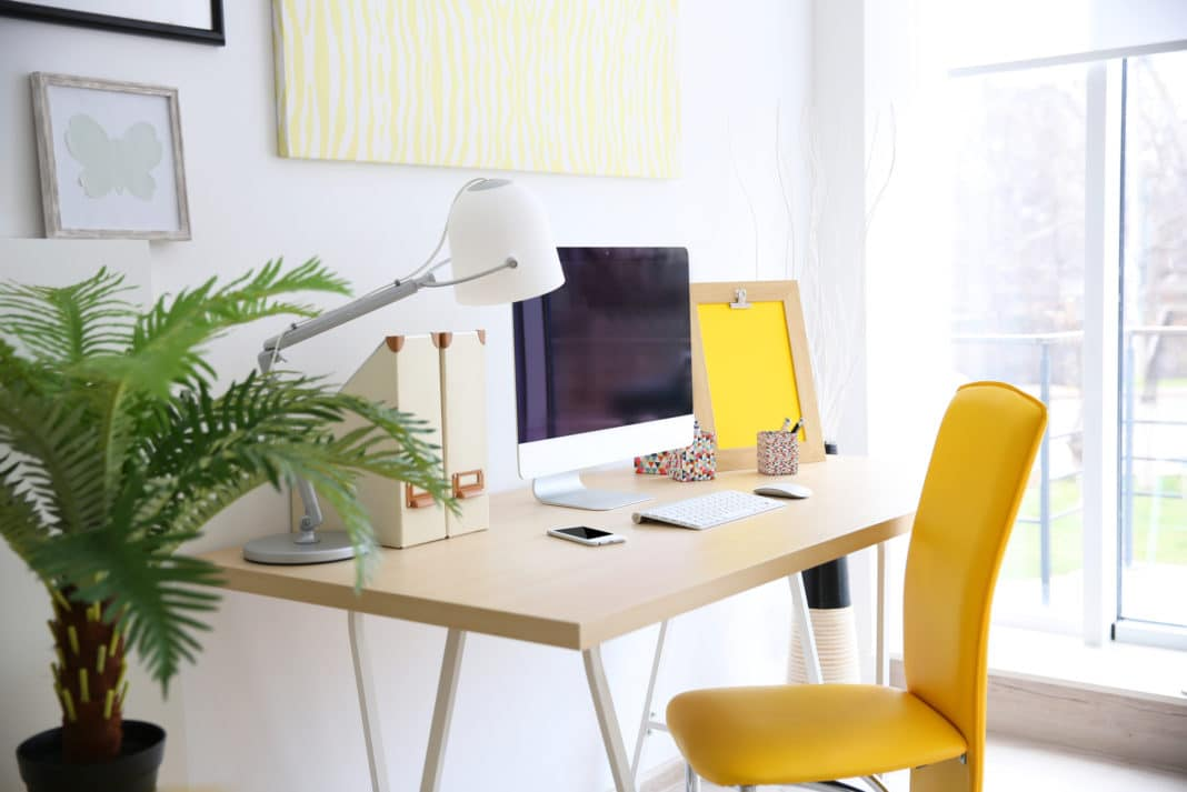 Home Design Ideas For 2019: Frugal Home Office Furniture Design Ideas