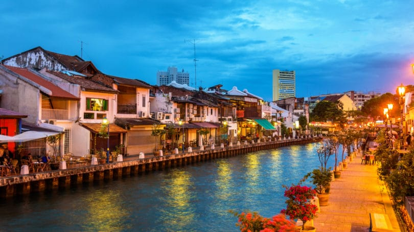 Malaysia Old Town Of Malacca Unesco World Heritage Site