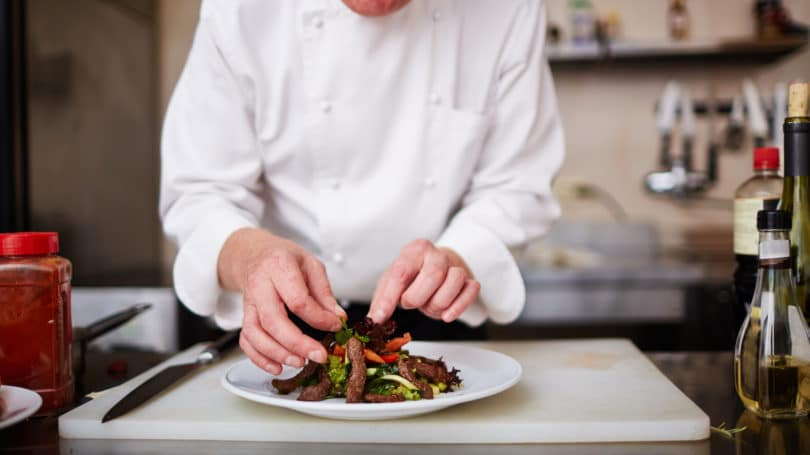 Personal Chef Cook Plating Cooking Kitchen