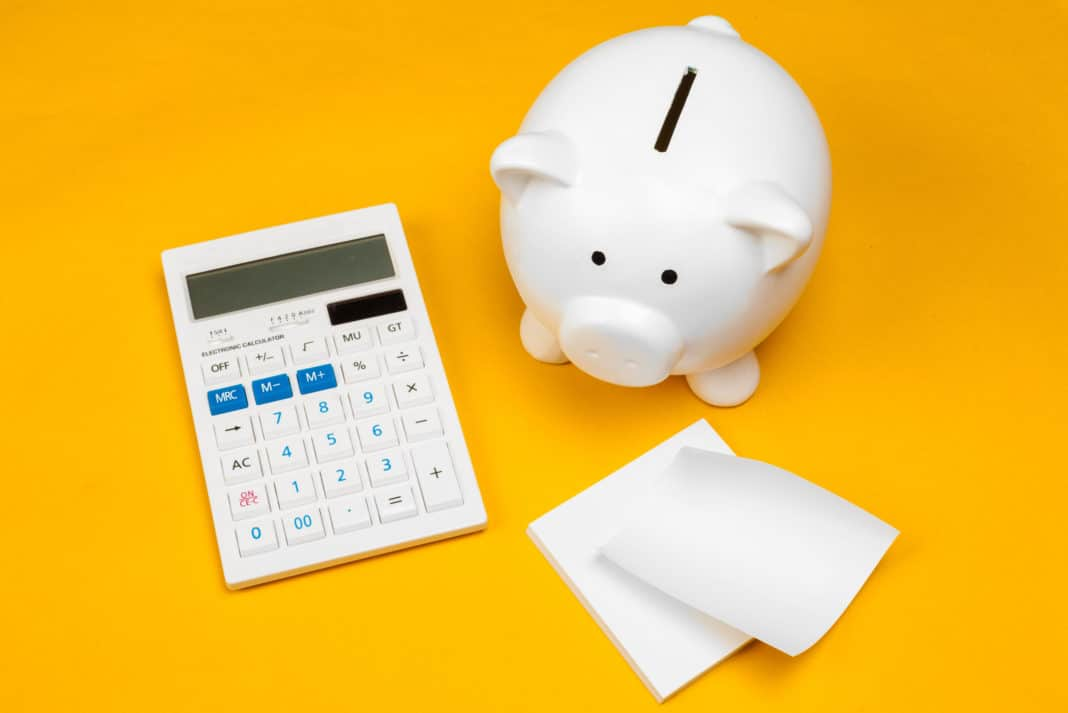 Piggy Bank Calculator Savings Budget Planning Finances