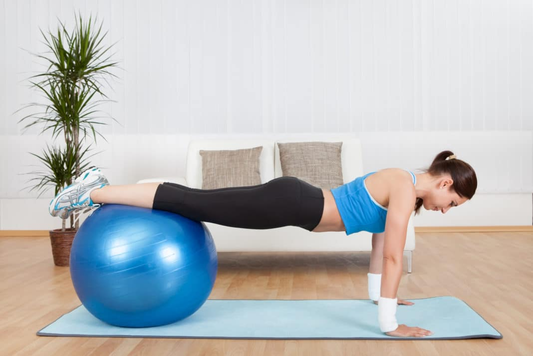 Stability Ball Exercises Workouts