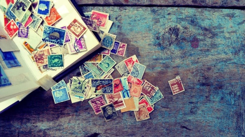 Stamp Collection Collectibles Rare Vintage Antique