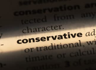 Tightward Conservative Person