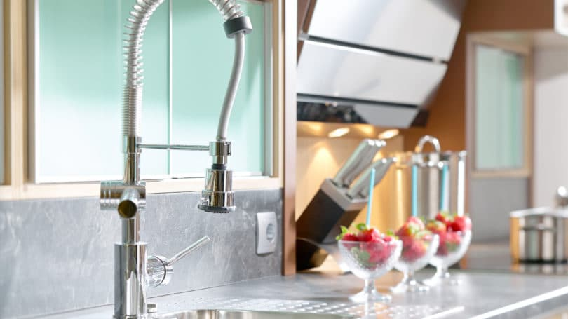 Kitchen Sink Functional Modern Efficient