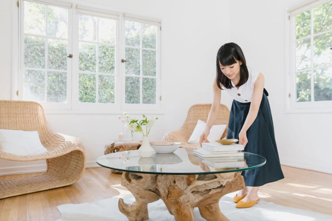 Konmari Tidying Table