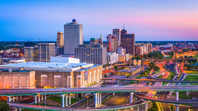 Memphis Tennessee Downtown