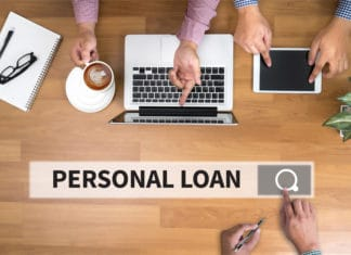 Personal Loan Search Bar Laptop
