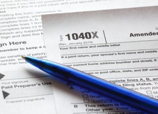 1040x Instructions File Amended Tax Return