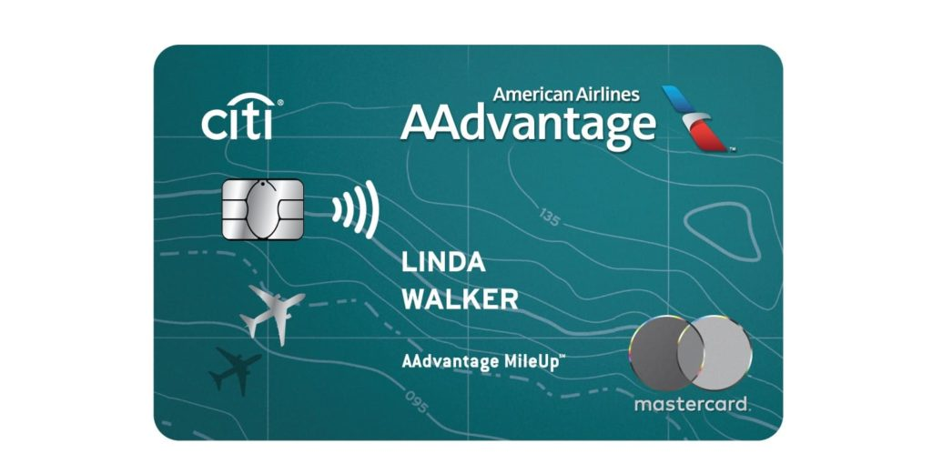 Citi Aa Mileup Card Art