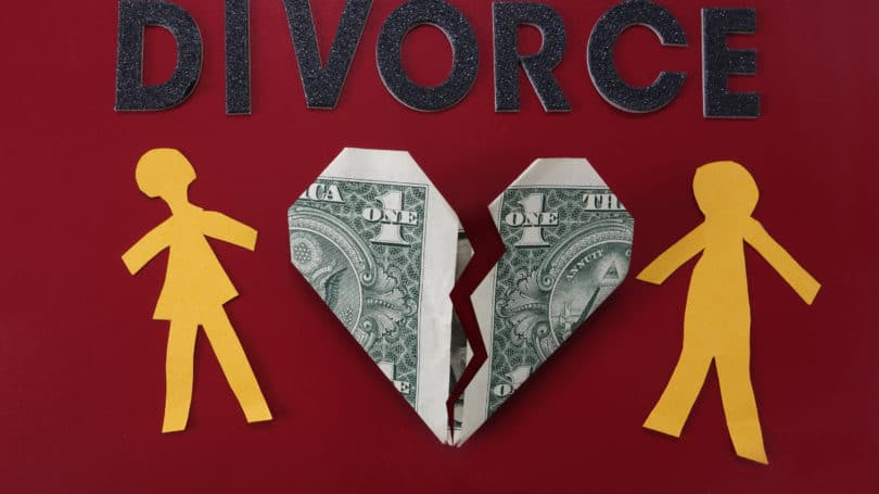 Divorce Ripping Heart Cash In Half