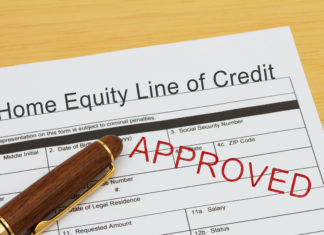 Home Equity Line Credit Heloc