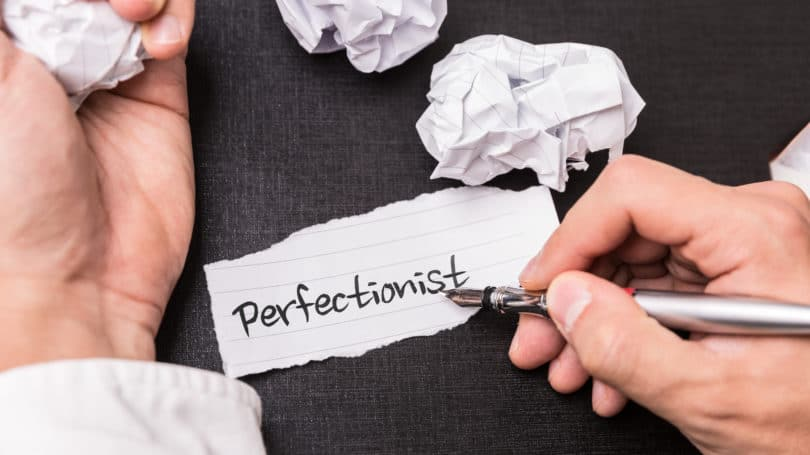 Perfectionist Writing