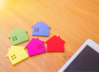Alternative Home Models Molds Miniature Colorful