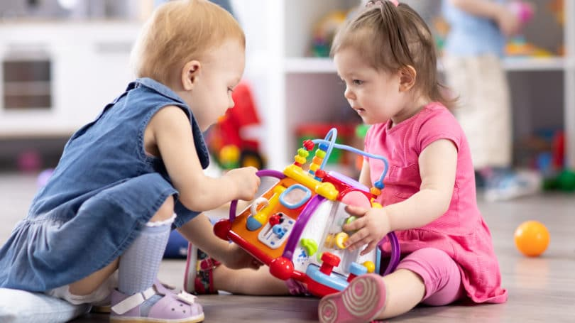 Babies Confidence Playing Sharing Social Skills Day Care