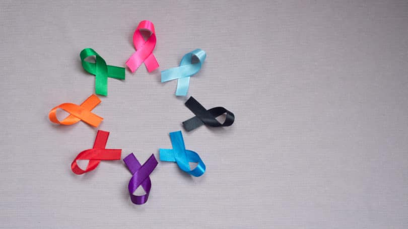Cancer Awareness Month Ribbons Colors