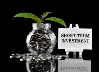 Short Term Investment Coins Savings Jar