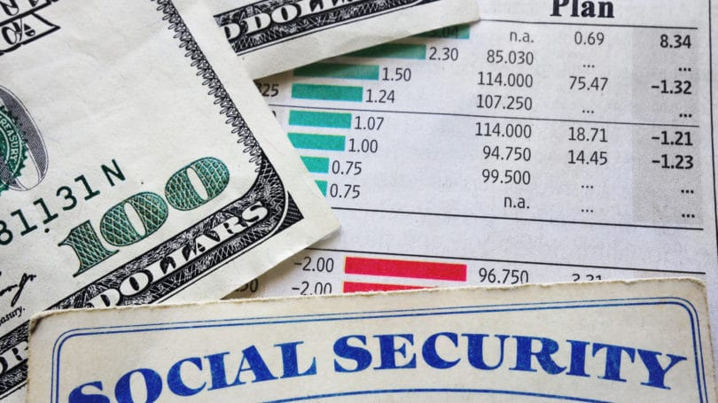 Social Security Benefit Retirement Plan Cash