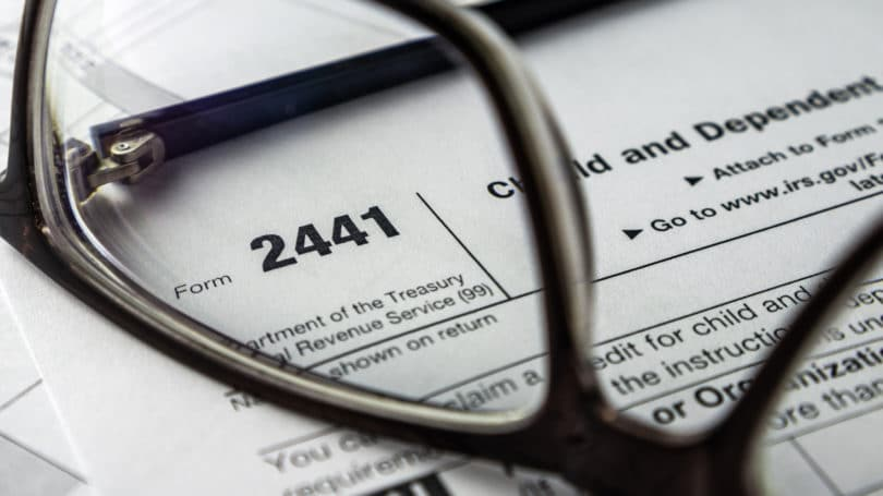 2441 Form Child Care Dependent Tax Deduction