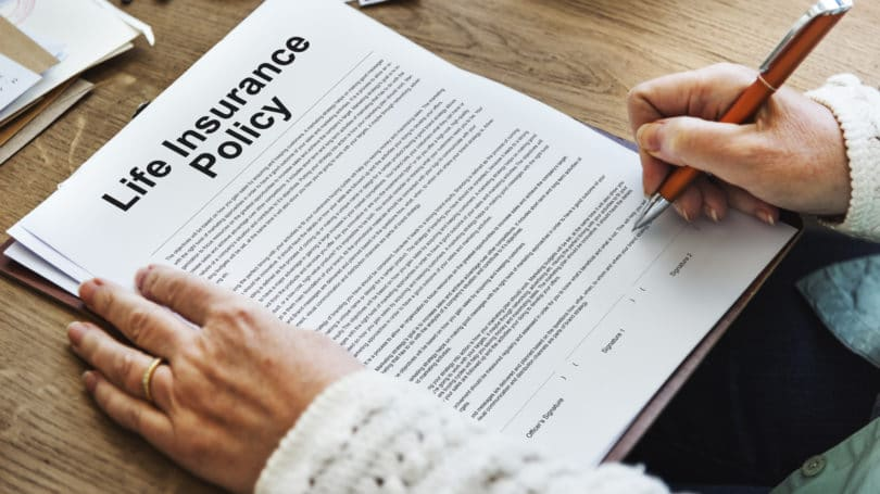 Life Insurance Policy Signature Contract