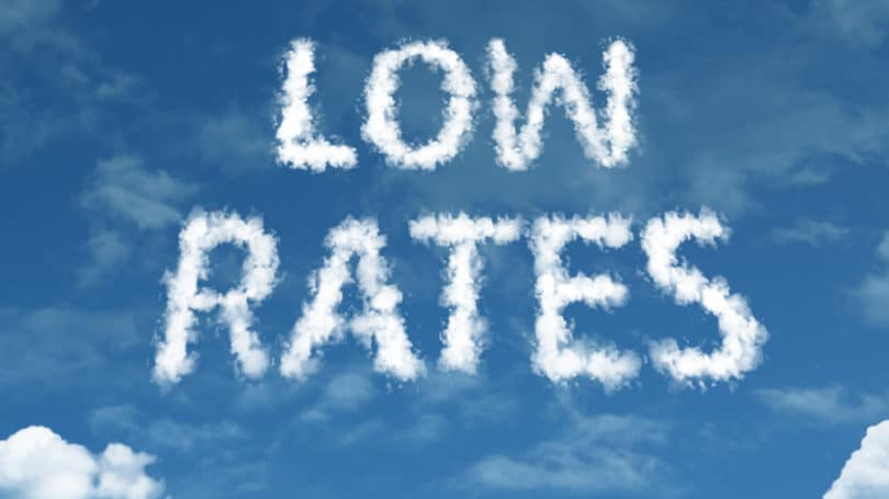 Low Rates Clouds Blue Sky