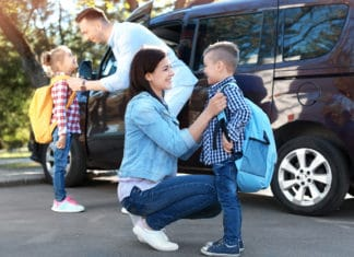 Parents Kids Back To School Routine